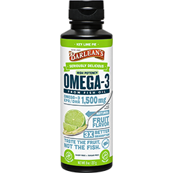SERIOUSLY DELICIOUS® OMEGA-3 HIGH POTENCY FISH OIL KEY LIME PIE THUMBNAIL