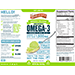 SERIOUSLY DELICIOUS™ OMEGA-3 HIGH POTENCY FISH OIL KEY LIME PIE SWATCH