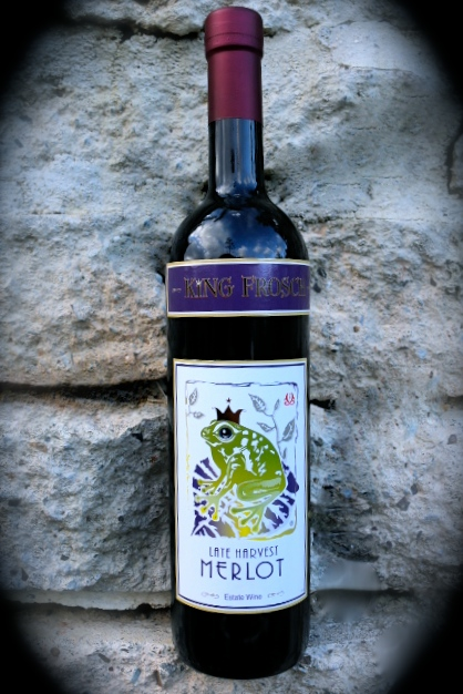 King Frosch Merlot Late Harvest All Natural Wine THUMBNAIL