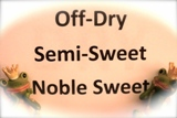 Semi-dry/sweet/noble sweet White