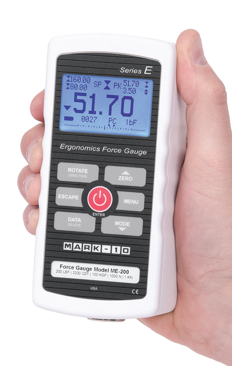 Mark-10 Ergonomics Force Gauge Series E THUMBNAIL