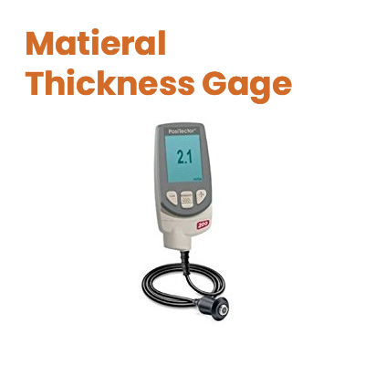 Material Thickness Gages