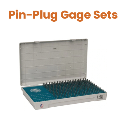 Pin-Plug Gage Sets
