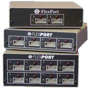 Universal FlexPort models FP-2U, FP-4U, and FP-8U