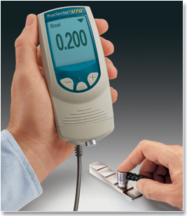 PosiTector Ultrasonic Thickness Gage
