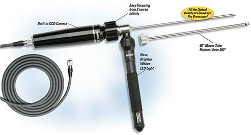 Hawkeye Rigid Video Borescope