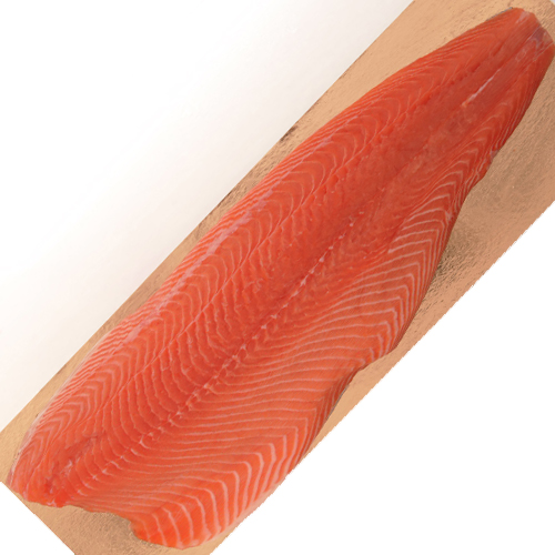 NORDIC WHOLE SKIN ON SMOKED SALMON. 3 LBS THUMBNAIL