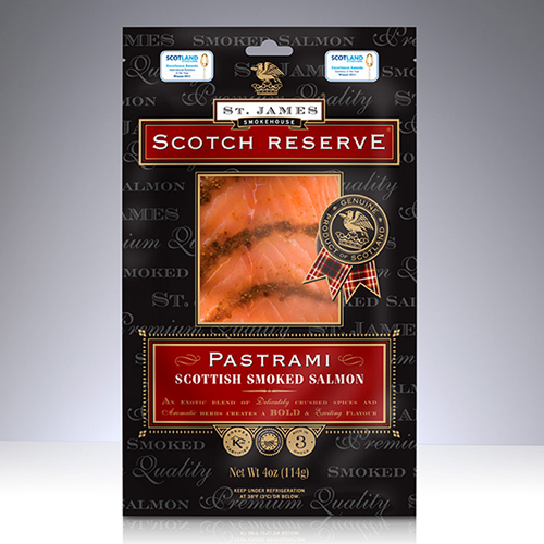 SCOTTISH SMOKED SALMON PASTRAMI - 4 OZ MAIN