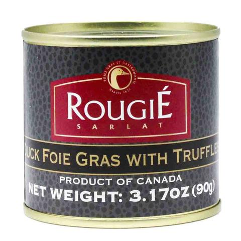 FOIE GRAS W/ TRUFFLES IN TIN 9 MAIN