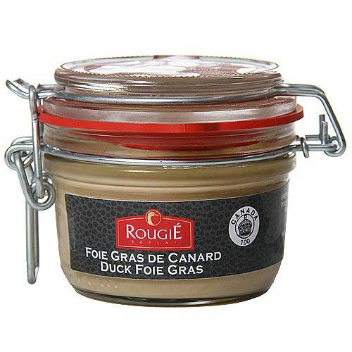 Block of Duck Foie Gras with Armagnac Brandy, Micuit 4.4 OZ THUMBNAIL