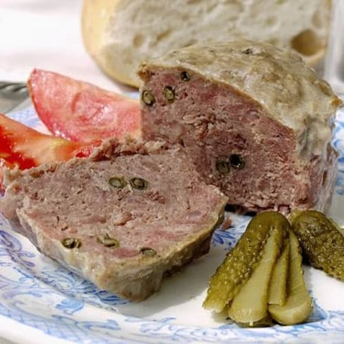 PATE MAISON (Pork & Chicken liver with green peppercorn) 12 x 5 oz THUMBNAIL