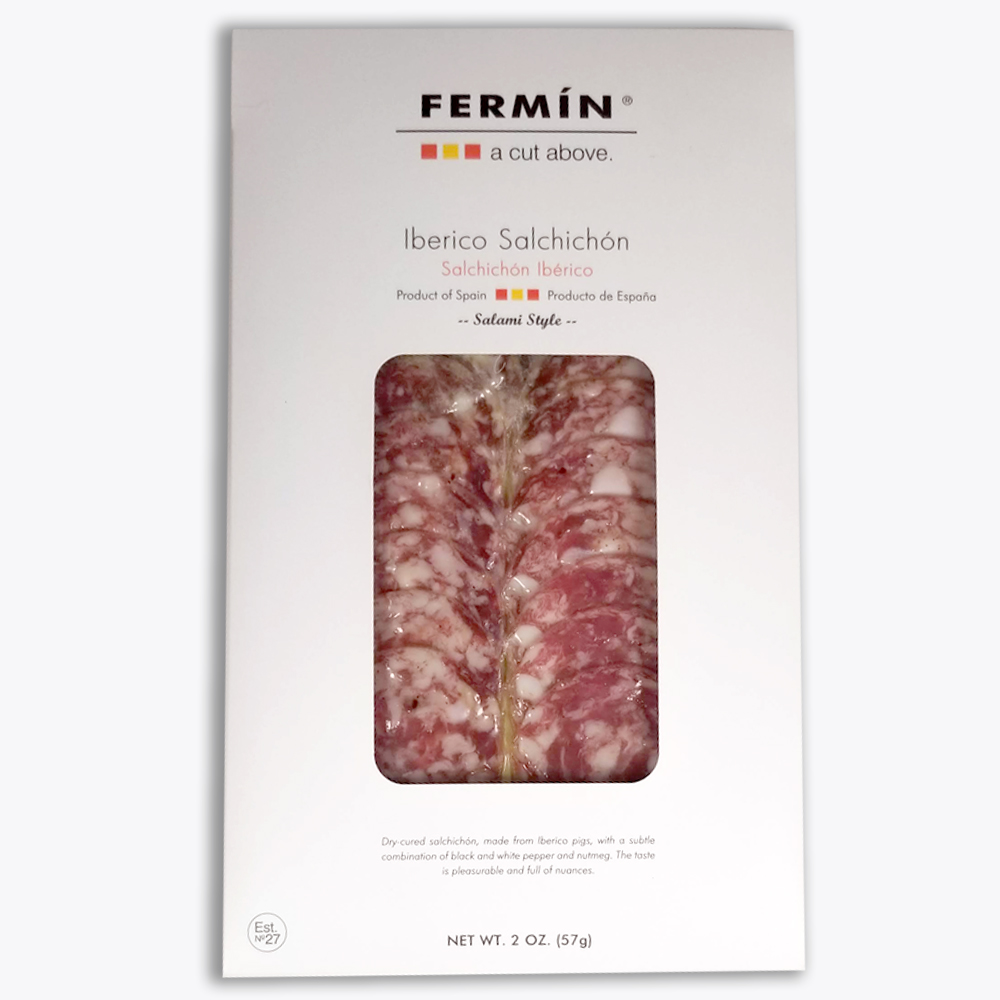 SLICED IBERICO SALCHICHON 2 OZ THUMBNAIL