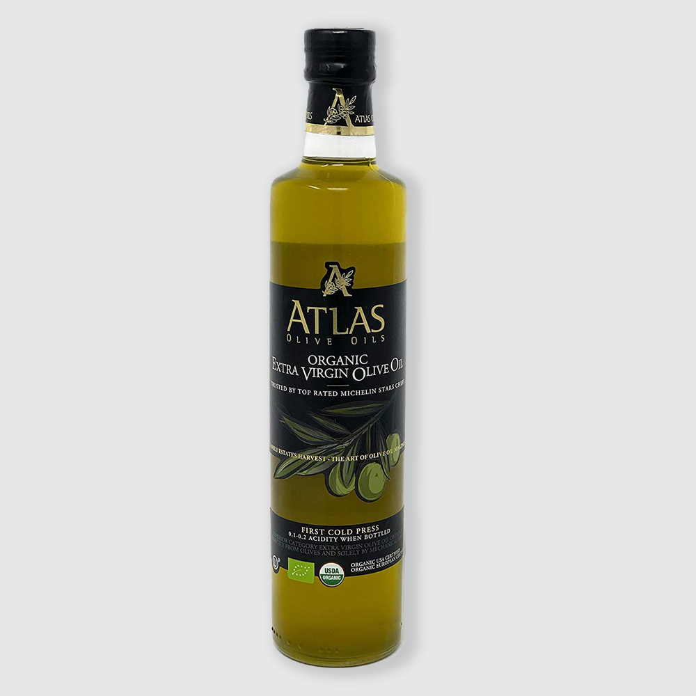 EXTRA VIRGIN OLIVE OIL GLASS BOTTLE 500 ML THUMBNAIL