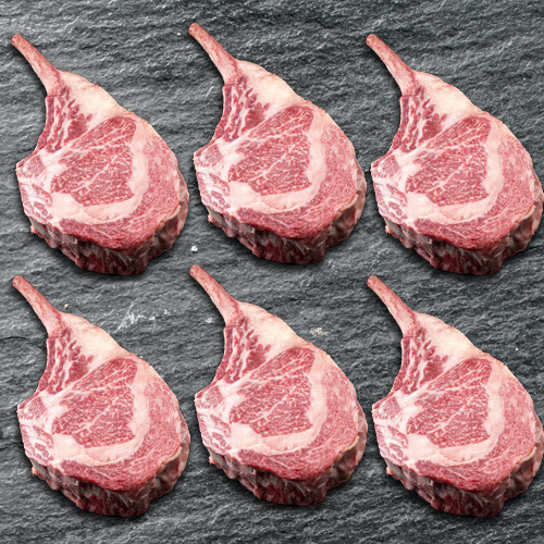 RIB EYE COWBOY STYLE 22/26 OZ -  6 PC SET MAIN