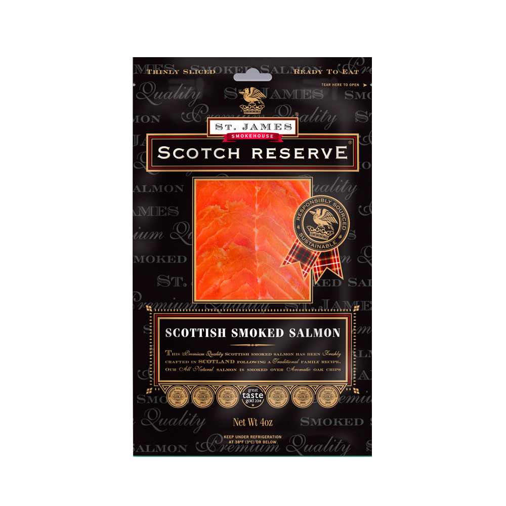 SCOTTISH RESERVE SMOKED SALMON 16 OZ MAIN