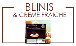 Blinis and Creme Fraiche
