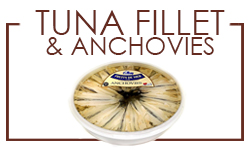 Tuna Fillet and Anchovies