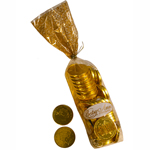 Gold Foil Coins - Milk Chocolate (12oz) SWATCH