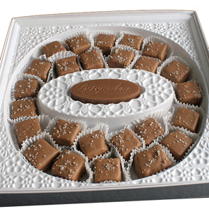 Milk Chocolate Sea Salt Caramels (14oz) MAIN