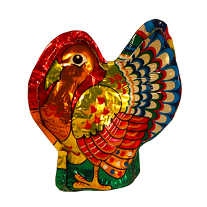 Milk Chocolate Foil Turkey (1oz)