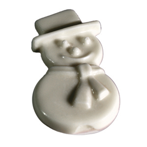 White Chocolate Snowman (1oz) MAIN