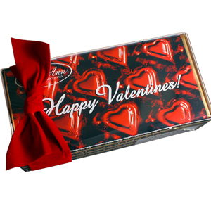 Valentine Bar Gift Set - Milk Chocolate (4bars) MAIN