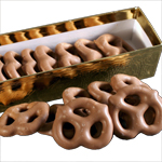 Chocolate Covered Mini Pretzels (4oz)