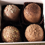 American Original Chocolate Truffles (4pc box) THUMBNAIL