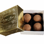Sugar Free Chocolate Truffles (4pc) THUMBNAIL