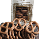 Milk Chocolate Covered Pretzels (8oz) THUMBNAIL