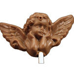 Milk Chocolate Angel Lollipop (1oz) THUMBNAIL