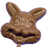 Bunny Face Lollipop - Milk Chocolate (1.5oz)_THUMBNAIL