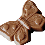 Butterfly - Milk Chocolate (1.5oz) THUMBNAIL