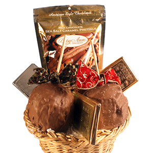 Caramel Apple Gift Basket MAIN
