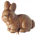 Chubby Bunny Lollipop - Milk Chocolate (1oz)