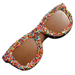 Chocolate Sunglasses - Decorated (2oz) THUMBNAIL