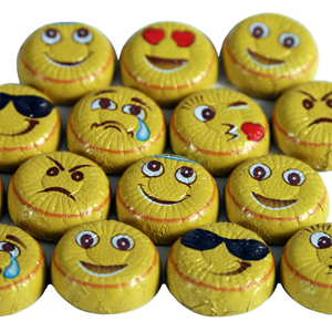 Milk Chocolate Emoticons (8oz) MAIN
