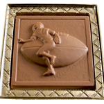 Football Mold - Milk Chocolate (4.25oz) THUMBNAIL