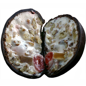 Fruit & Nut Egg - Dark Chocolate (16oz) MAIN