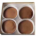 Peanutbutter Cup Gift Box - Milk Chocolate (4pc) THUMBNAIL