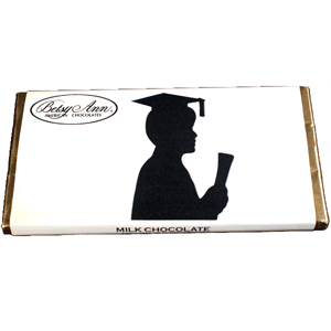 Milk Chocolate Boy Graduation Bar (3.5oz) MAIN