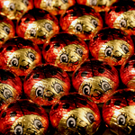 Milk Chocolate Foil Lady Bug (.5oz)_THUMBNAIL