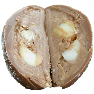 Macadamia Coconut Chocolate Truffle Egg (1.5oz) MAIN
