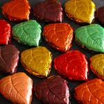 Foil Fall Leaves - Milk Chocolate (12oz)_SWATCH