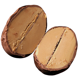 Peanut Butter Melt Egg - Milk Chocolate (16oz)_MAIN