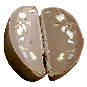 Pecan Meltaway Egg - Milk Chocolate (1.5oz)
