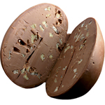 Pecan Meltaway Egg - Milk Chocolate (16oz) THUMBNAIL