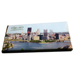 Dark Chocolate Pittsburgh Bar (3.5oz) THUMBNAIL