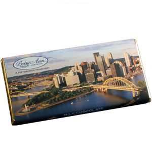 Milk Chocolate Pittsburgh Bar (3.5oz) MAIN