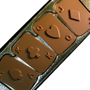 Playing Cards - Milk Chocolate (4oz) MAIN